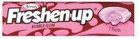 Fuzzy Bubble 7 Pieces Gum   Wrapper