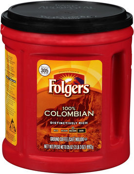 Folgers® 100% Columbian Ground Coffee Med-Dark