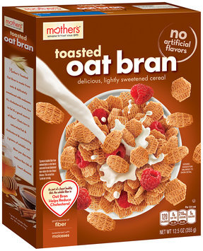 Mother's® Toasted Oat Bran Cereal 12.5 oz. Box