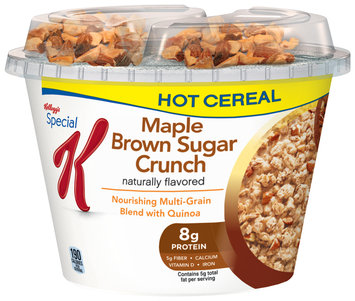 Special K® Kellogg's Maple Brown Sugar Crunch Hot Cereal