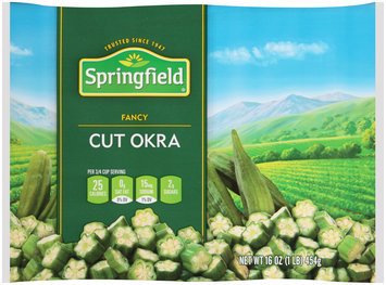 Springfield® Cut Okra 16 oz. Bag