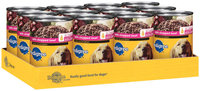 Pedigree Meaty Ground Dinner W/Chopped Beef Wet Dog Food 22 Oz Can