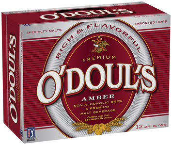 O'doul's Amber 12 Oz Beer 12 Pk Cans