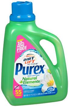 Purex® Natural Elements® Linen & Lilies® Laundry Detergent 82.5 fl. oz. Jug