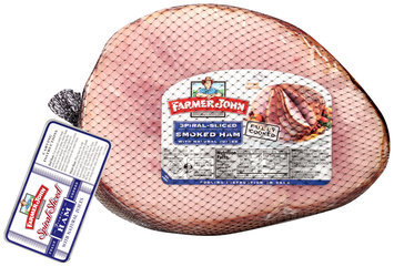 Farmer John® Spiral-Sliced Smoked Ham with Natural Juices