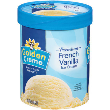 Golden Creme® Premium French Vanilla Ice Cream 1.75 qt. Tub