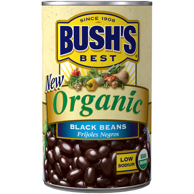 Bush's® Best Organic Black Beans 15 oz. Can