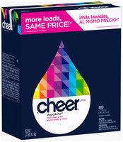 Cheer Ultra Fresh Clean Scent Powder Laundry Detergent 112 oz. Box