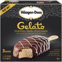 Haagen-Dazs Gelato Tiramisu Dark Chocolate Italian Style Frozen Dessert Bars