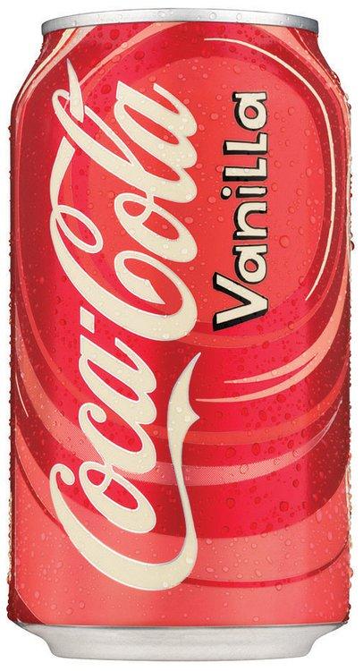 Coca-Cola Vanilla 12 oz Can