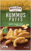 Mill City Snacks Garlic Lemon Herb Hummus Puffs 15 oz. Bag