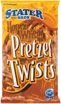 Stater Bros. Honey Wheat Twists Pretzels 10 Oz Bag
