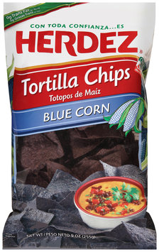 Herdez® Blue Corn Tortilla Chips 9 oz. Bag