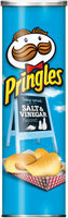Pringles® Salt & Vinegar Potato Crisps 4.62 oz. Canister