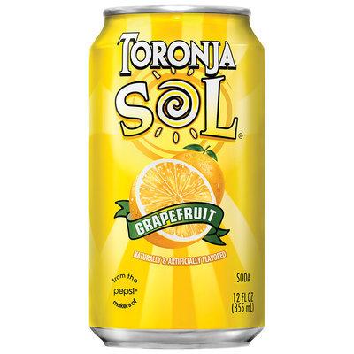 Toronja Sol® Grapefruit Soda 4 Pack 12 fl. oz. Cans