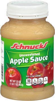Schnucks® Unsweetened Apple Sauce 23 oz. Jar