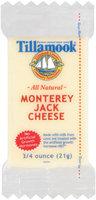 Tillamook Monterey Jack Portion Cheese .75 Oz Portion