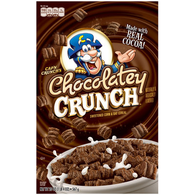 Cap'n Crunch's Chocolatey Crunch™ Cereal 20 oz. Box