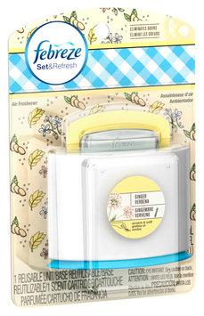 Set & Refresh Febreze Set & Refresh™ Ginger Verbena Air Freshener (1 Count, 0.15 fl oz)