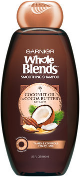 Garnier® Whole Blends™ Coconut Oil & Cocoa Butter Extracts Smoothing Shampoo 22 fl. oz. Bottle