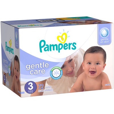 Gentle Care Pampers Gentle Care Diapers Size 3 72 count