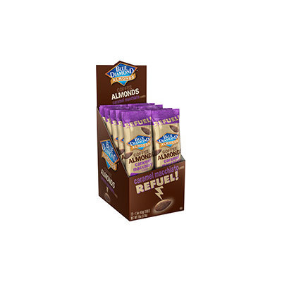 Blue Diamond® Almonds Caramel Macchiato 12-1.5 oz. Bags