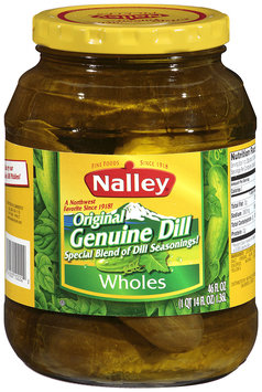 Nalley®Original Genuine Dill Wholes 46 fl oz Jar