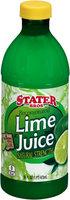 Stater Bros® Reconstituted Lime Juice 16 fl. oz. Plastic Bottle