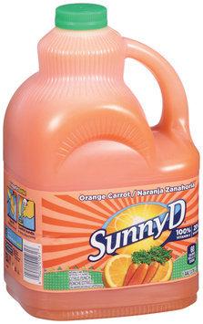 Sunny D® Orange Carrot Citrus Punch 1 Gal Jug