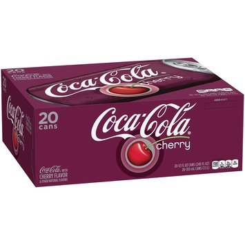 Coca Cola® Cherry 20-12 fl. oz. Cans