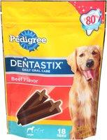 Pedigree® Dentastix® Daily Oral Care Large Beef Flavor Dog Care & Treats 15.6 oz. Stand up Bag