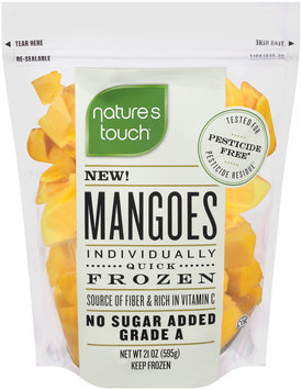 Nature's Touch™ Individually Quick Frozen Mangoes 21 oz. Bag