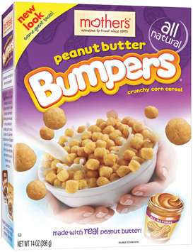 Mother's Peanut Butter Bumpers Cereal 14 Oz Box
