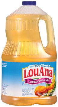LouAna® 100% Pure Blended Corn & Canola Oil 128 fl. oz. Jug