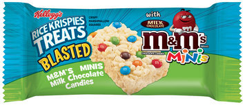 Kellogg's® Rice Krispies Treats Blasted™ M&M'S® MINIS® Crispy Marshmallow Squares