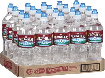 Arrowhead Mountain Spring Water 20-700mL Sports Bottles with Flip Cap