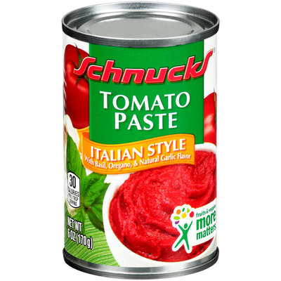 Schnucks® Italian Style Tomato Paste 6 oz. Can