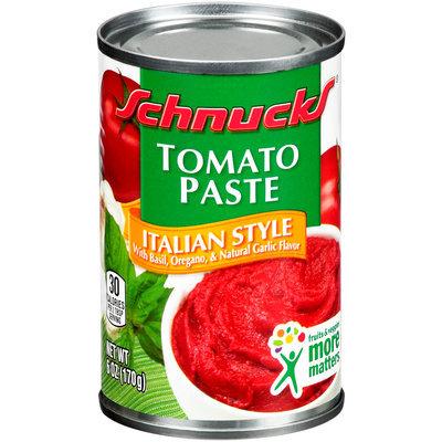 Schnucks® Italian Style Tomato Paste 6 oz. Can