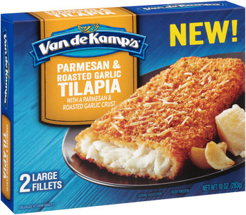 Van de Kamp's® Parmesan & Roasted Garlic Tilapia Fillets 2 ct Box