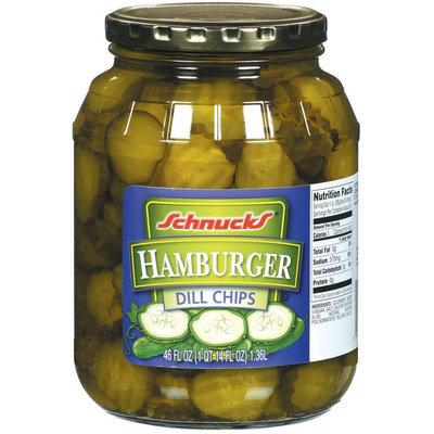 Schnucks Hamburger Dill Chips Pickles