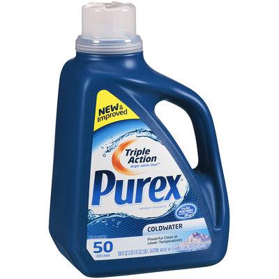 Purex® Coldwater Laundry Detergent 100 fl oz Plastic Jug