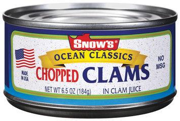 Snow's Ocean Classics Chopped In Clam Juice Clams