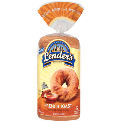 Lender's® French Toast Bagels 14.25 oz. Bag