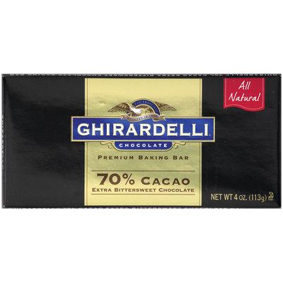 Ghirardelli® Chocolate Premium Baking Bar 70% Cacao 4 oz