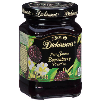Dickinson's® Pure Seedless Boysenberry Preserves 10 oz. Jar