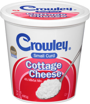 Crowley® Small Curd Cottage Cheese 24 oz. Tub