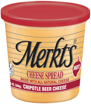 Merkts® Chipotle Beer Cheese Spread 14 oz. Tub