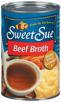Sweet Sue Beef Broth 14.5 Oz Can