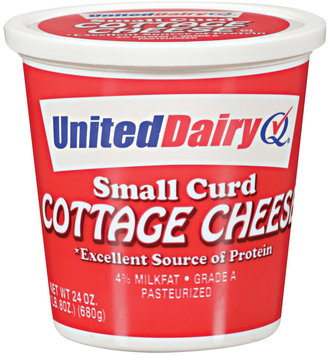United Dairy® Small Curd Cottage Cheese
