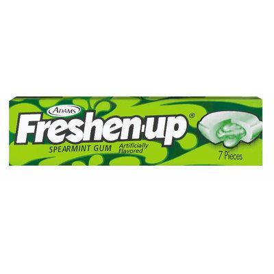 Fuzzy Spearmint 7 Pieces Gum   Wrapper